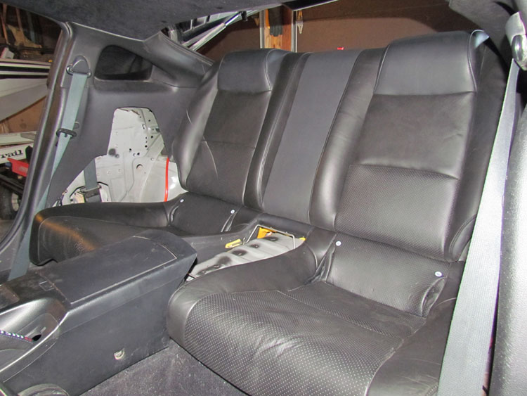 22 Backseat Project Lookin For Advice My350z Nissan 350z